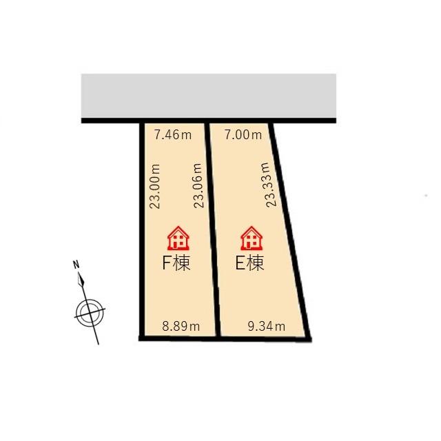 木田3丁目F棟1